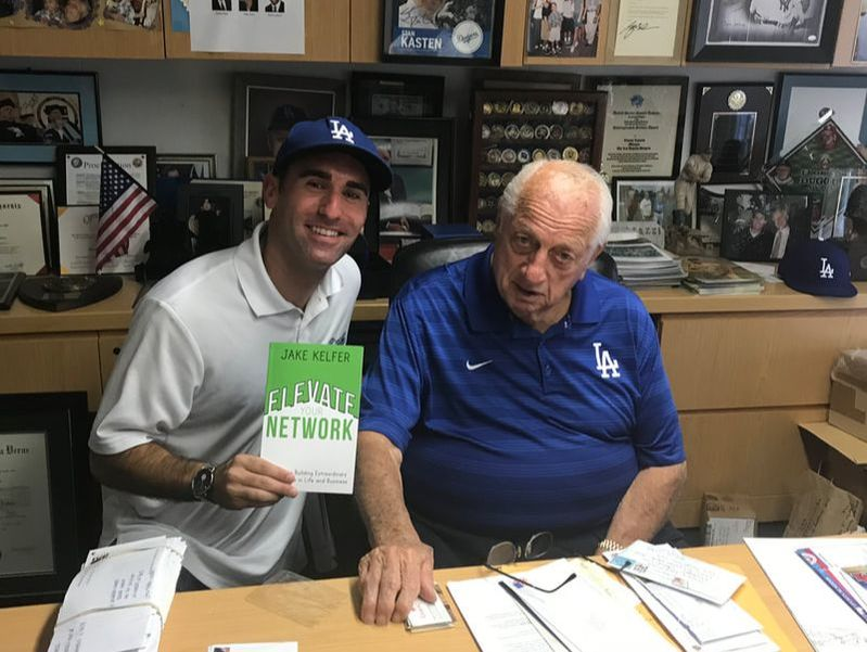 MLB Hall of Fame Coach Tommy Lasorda